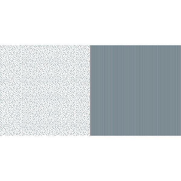 Dini Design Scrapbook-Papier Sterne & Streifen Mitternacht