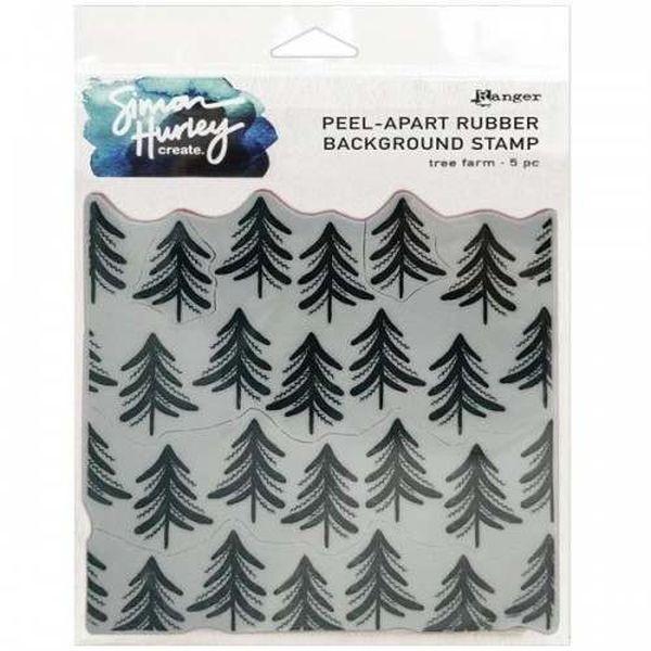 Simon Hurley - Peel Apart Backgroundstamp Tree Farm
