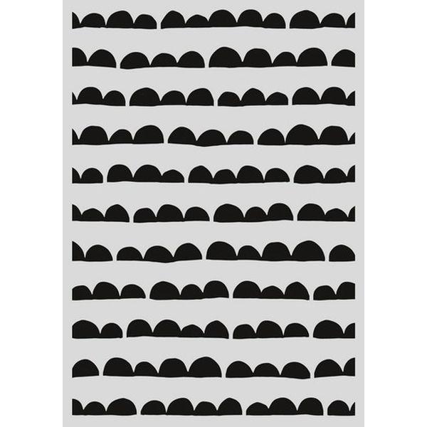 Pronty Mask Stencil A4 Jacob Stripes