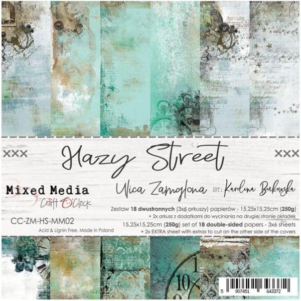 Craft o´Clock Hazy Street A Set of Papers 6x6