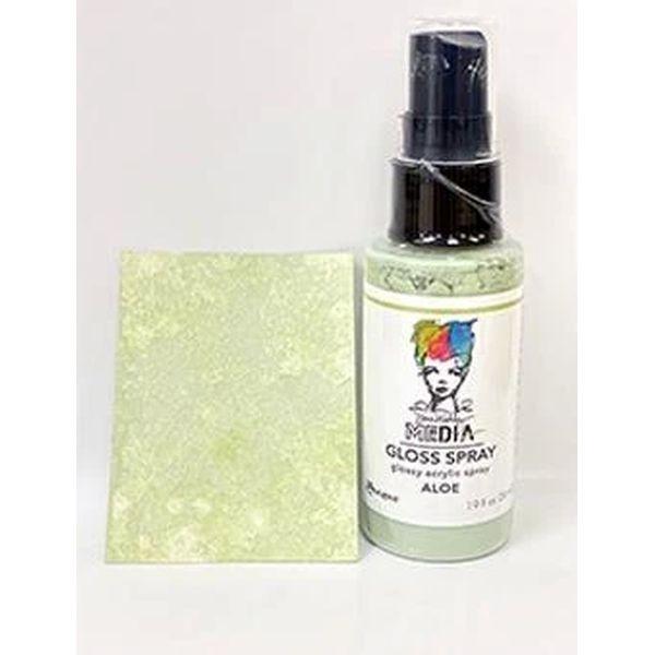 Dina Wakley Media Gloss Spray Aloe