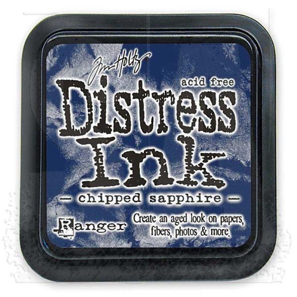 Distress Ink Mini Pad Chipped Sapphire