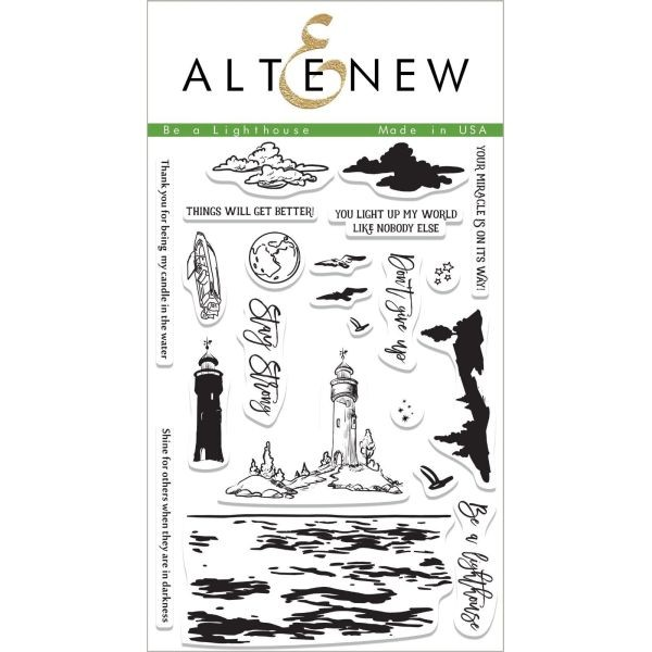 Altenew Clearstamps 4x6 Be a Lighthouse