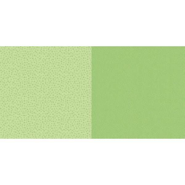 Dini Design Scrapbook-Papier Punkte & Blumen Limettengrün