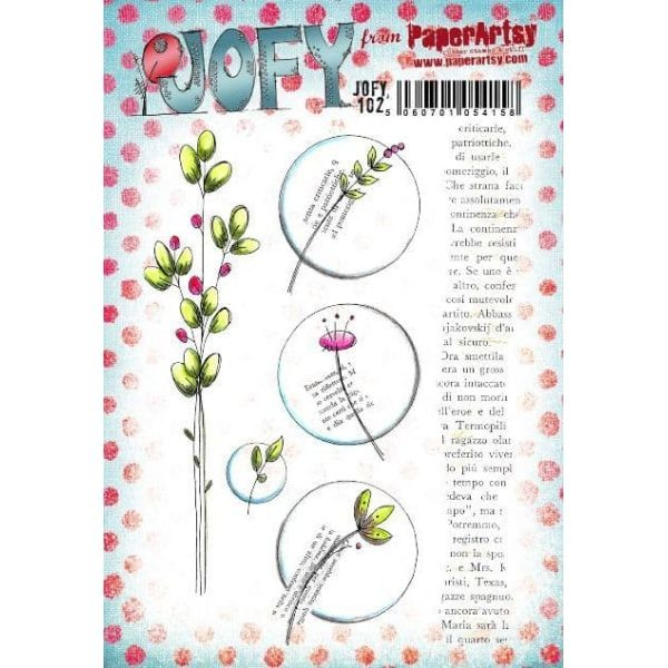 Paper Artsy JOFY Plate 102