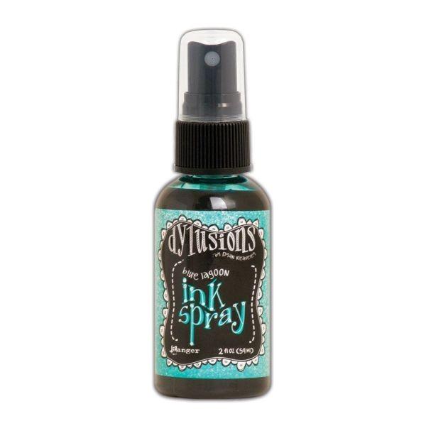 Dylusions Ink Spray Blue Lagoon