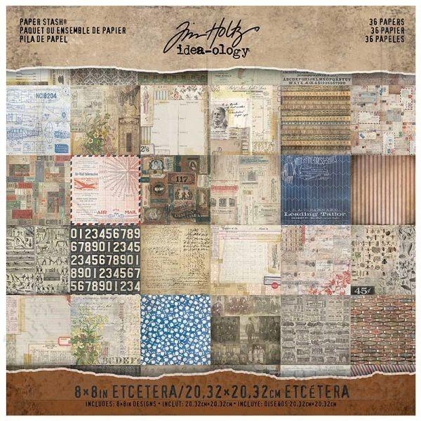 Tim Holtz Paper Stash 8x8 Etcetera