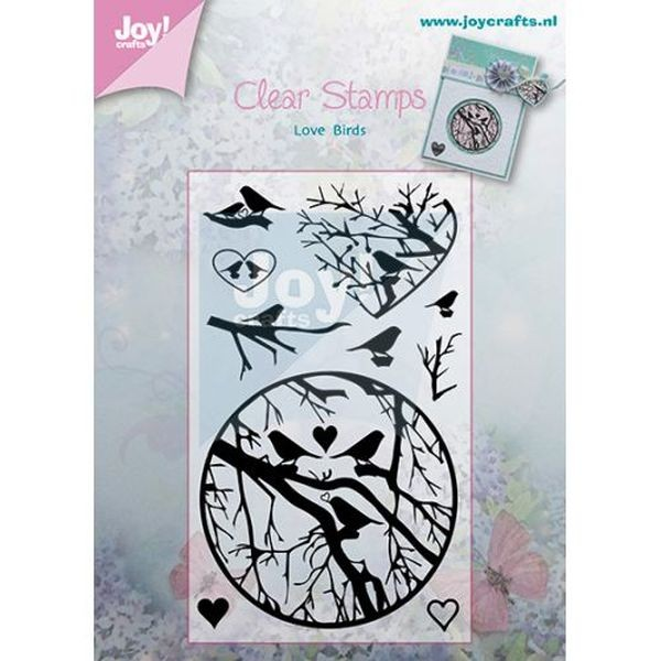 Joy! Crafts Clear Stamps Love Birds