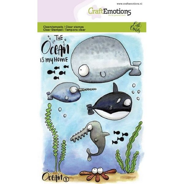 Craft Emotions Clearstamps Ocean No. 1