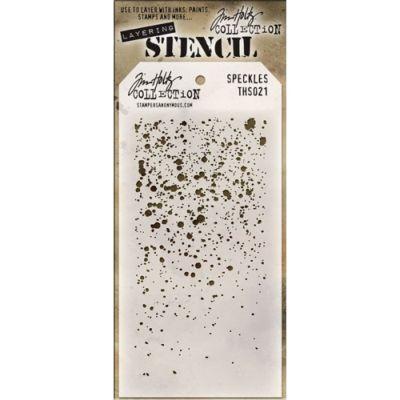 Tim Holtz Layering Stencils 021 Speckles
