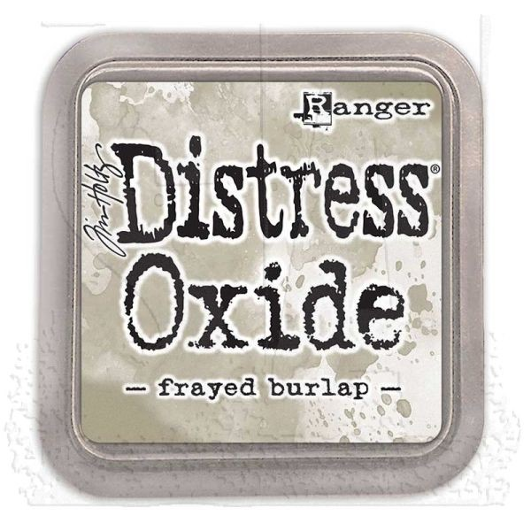Tim Holtz Distress Oxide Pad Frayed Burlap