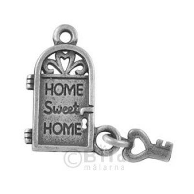 Metal Charms Home Sweet Home