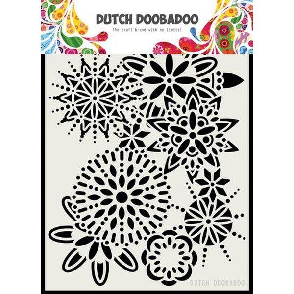 Dutch Doobadoo Mask Stencil A5 Mandala