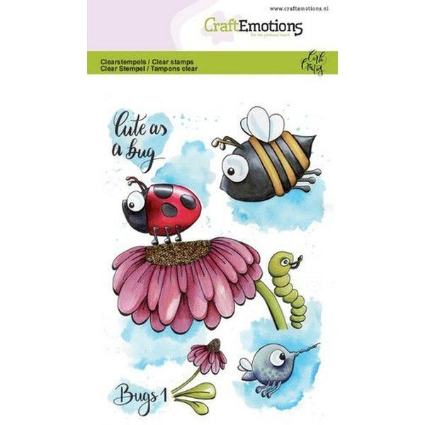 Craft Emotions Clearstamps Bugs No. 1