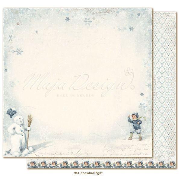 Maja Design Joyous Winterdays Snowball Fight