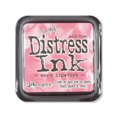 Distress Ink Mini Pad Worn Lipstick