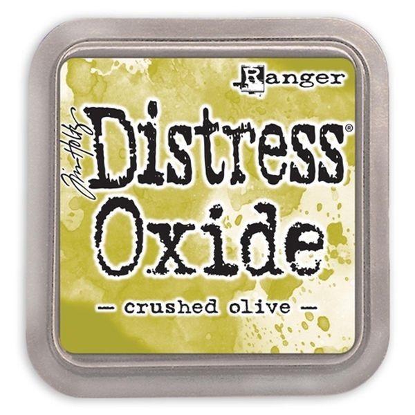 Tim Holtz Distress Oxide Pad Crushed Olive