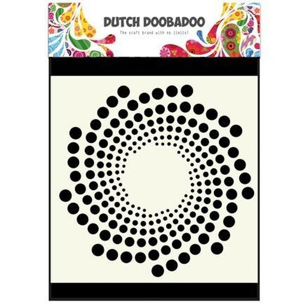 Dutch Doobadoo Mask Stencil 6x6 Sun