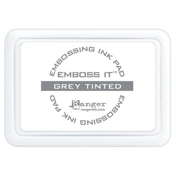 Ranger Emboss it Ink Pad Grey Tinted