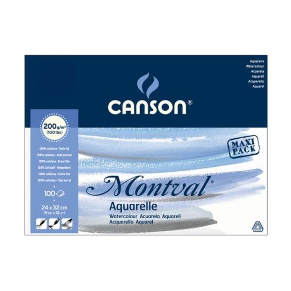 Canson Montval Aquarelle-Block Maxi