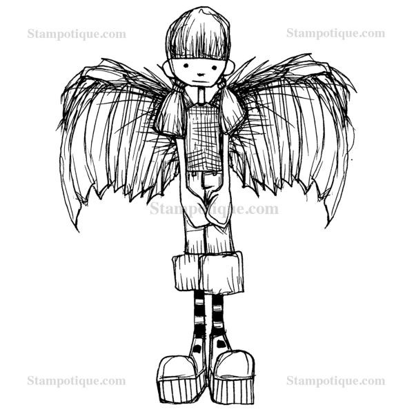 Stampotique Originals Angelgirl