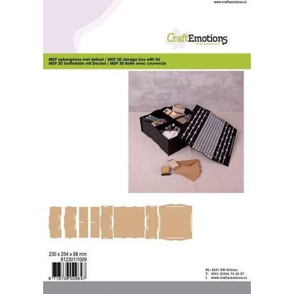 CE MDF Storage Box with Lid
