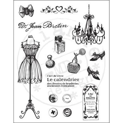 Marianne D Clearstamps Fashion