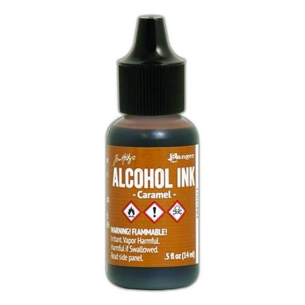 Tim Holtz Alcohol Ink Caramel