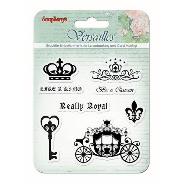 ScrapBerry´s Clearstamps Versailles Like a King