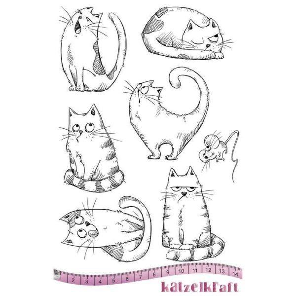 Katzelkraft Tampon A5 Les Chats Russes