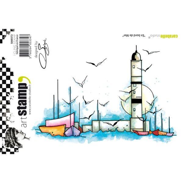 Carabelle Studio Tampon Art Stamp A6 En Bord de Mer