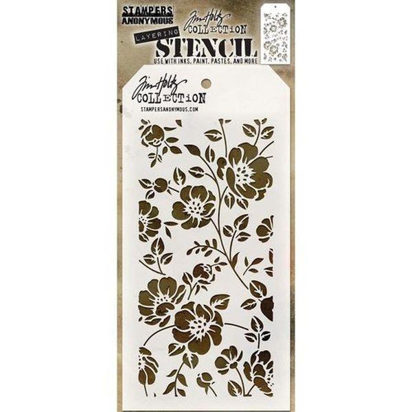 Tim Holtz Layering Stencils 077 Floral