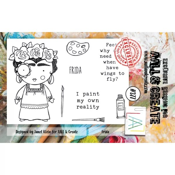 AALL & Create Clearstamps A7 No. 377 Frida