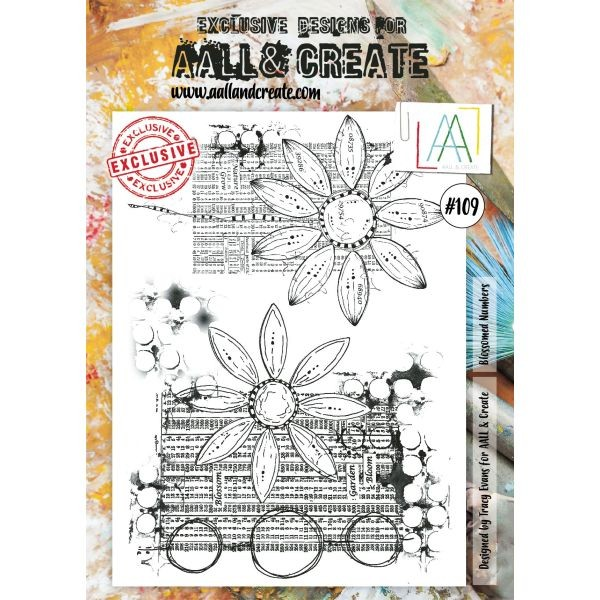 AALL & Create Clearstamps A4 No. 109