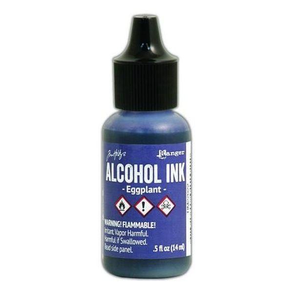 Tim Holtz Alcohol Ink Eggplant