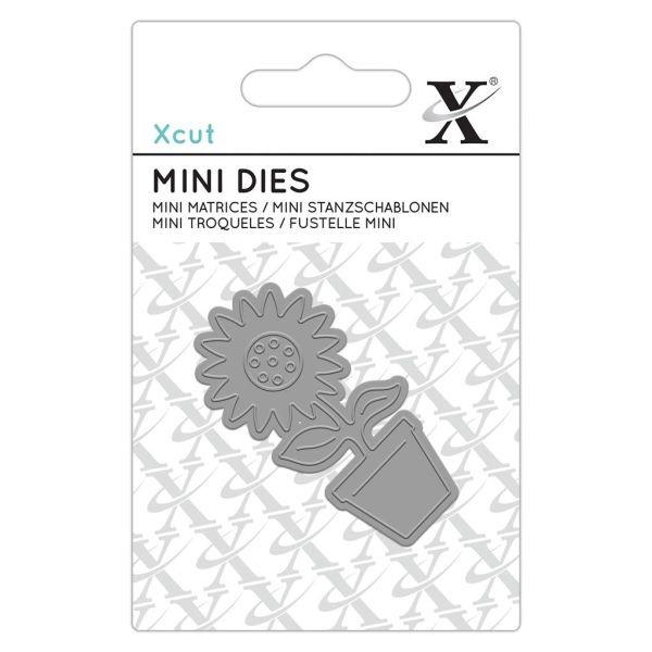 Xcut Mini Dies Flower Pot