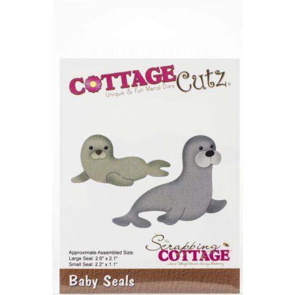 Cottage Cutz Die Baby Seals