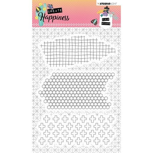 Studio Light Clearstamps A6 Create Happiness No. 349