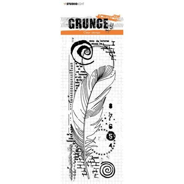 Studio Light Clearstamps Grunge Collection No. 407
