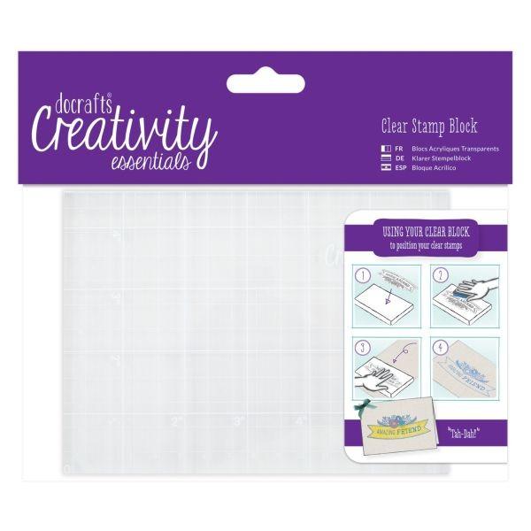 Creativity Essentials Clearstamp Block A6