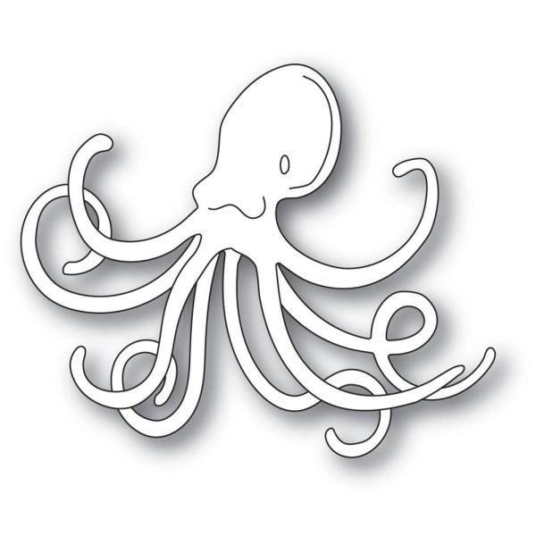 Memory Box Craft Die Deep Sea Octopus