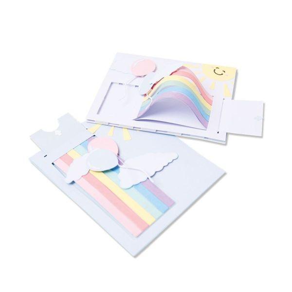 Sizzix Thinlits Rainbow Slider Card