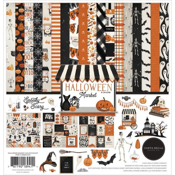 Carta Bella Halloween Market Collection Pack