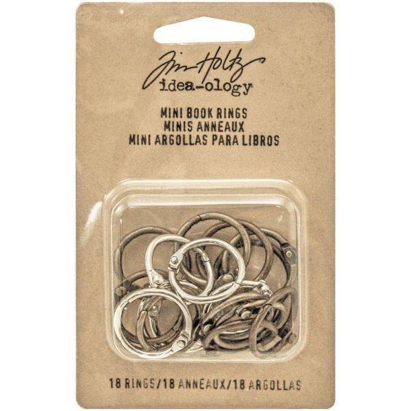 Tim Holtz Idea-Ology Mini Book Rings