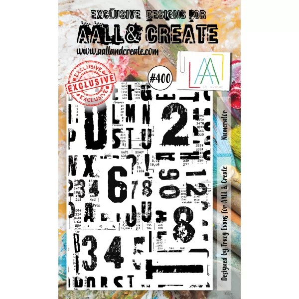 AALL & Create Clearstamps A6 No. 400 Numerator