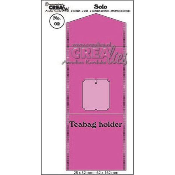 CreaLies SOLO No. 02 Teabag Holder