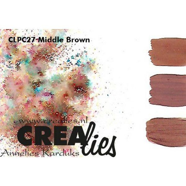 Crealies Pigment Colorzz Middle Brown