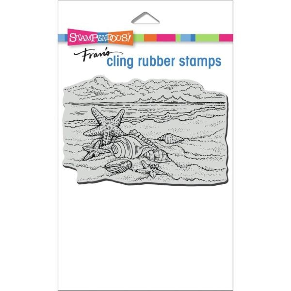 Stampendous Fran´s Clingstamps Seaside Shells