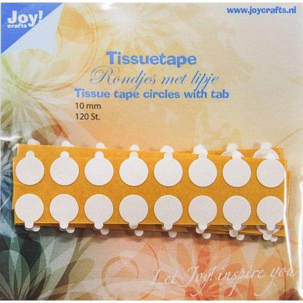 Joy! Crafts Tissuetape Circles w/Pull Tab 10mm