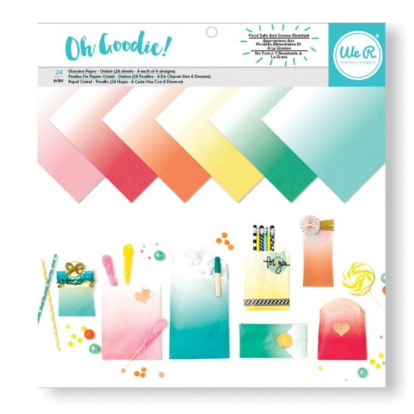 WeR Memory Keepers Glassine Paper Pack Ombre 12x12